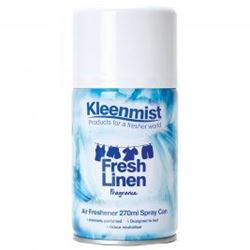Picture of Kleenmist Aerosol Air Freshener - Fresh Linen (12 x 270ml)