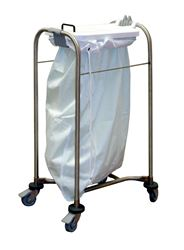 Picture of 1 Bag Laundry Cart - White Lid (93cm x 38cm x 49cm)