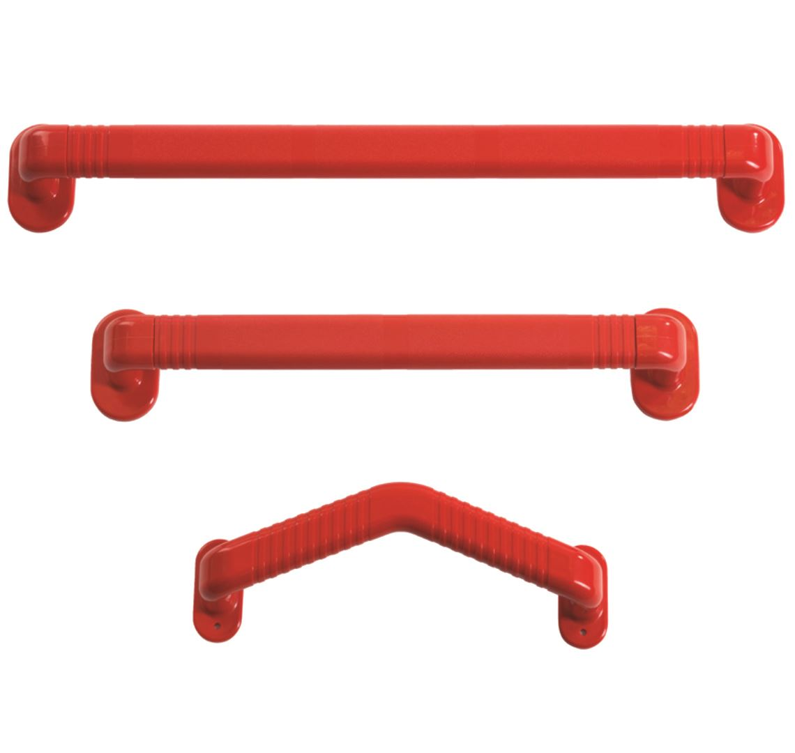 Picture for category Plastic Red Grab Rails