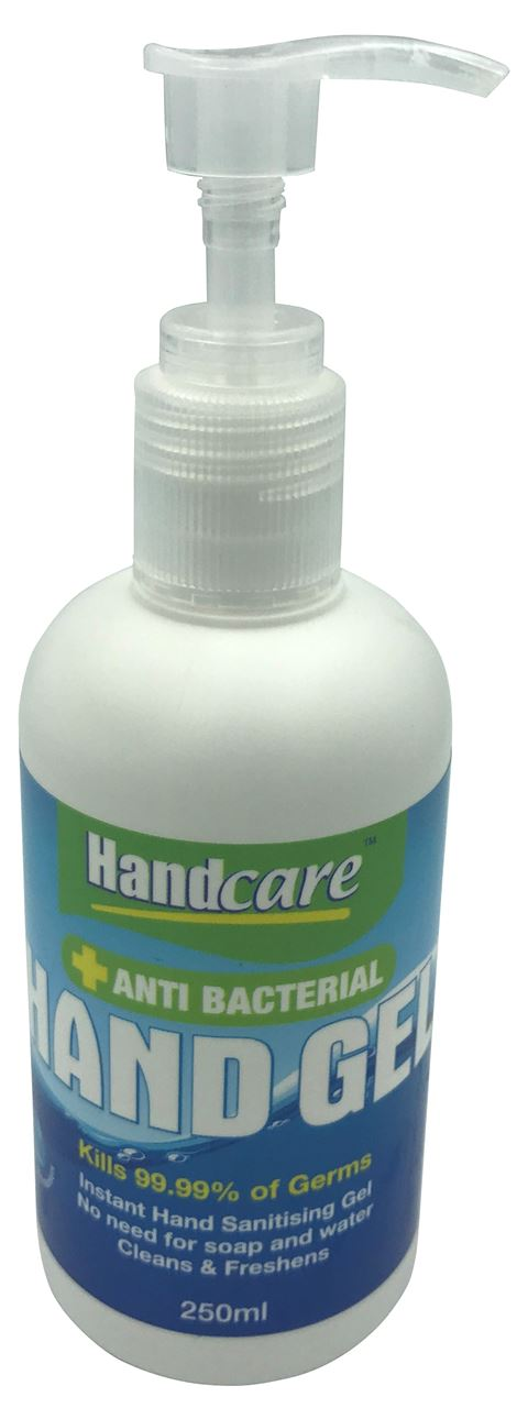 Picture of Hand Care Anti Bacterial Hand Gel (250ml)