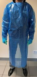 Picture of Protective Apron, with Long Sleeves and Thumb Loops
