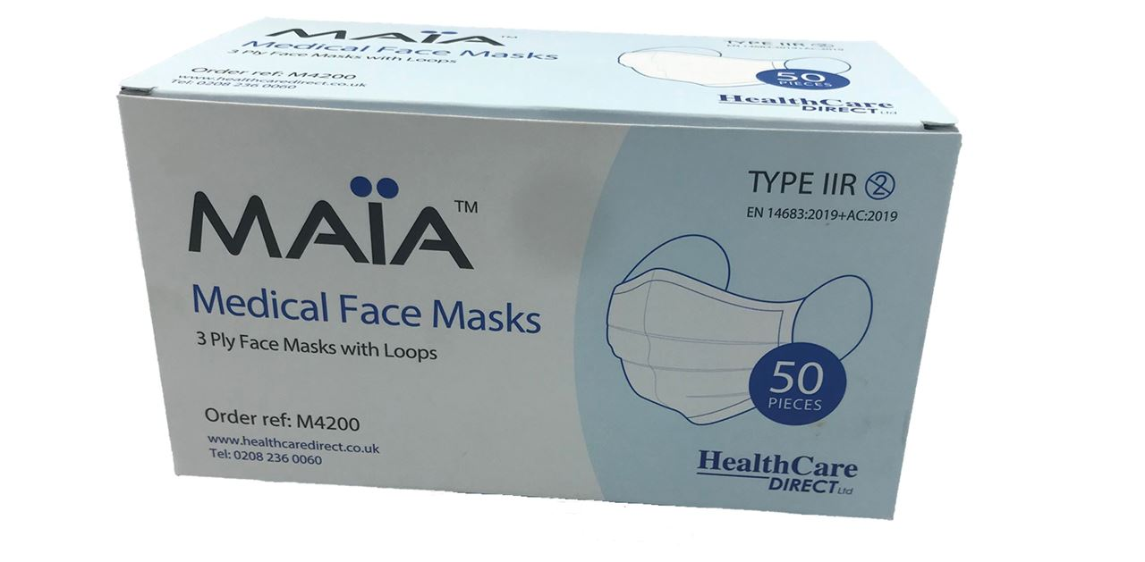 Picture for category Type IIR Medical Masks