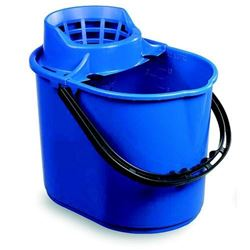 Picture of Economy Mop Bucket & Wringer (15 Litres) BLUE