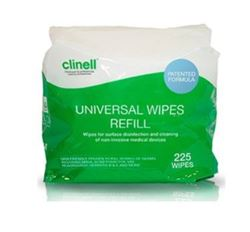 Picture of Clinell Universal Sanitising Wipes Bucket Refiill (225)