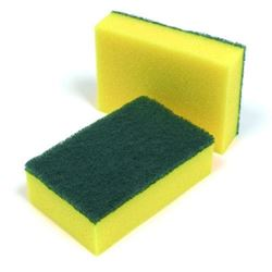 Picture of Large Green Sponge Scourers (10/pack)