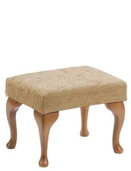 Picture of Queen Anne Footstool - Biscuit