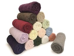 Picture of Knitted Face Flannels Cream (Pack of 12)
