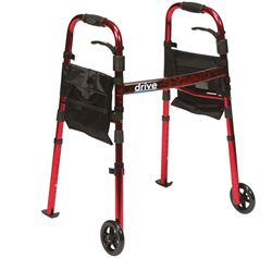 Picture of Ready-Set-Go Travel Walker (Red)