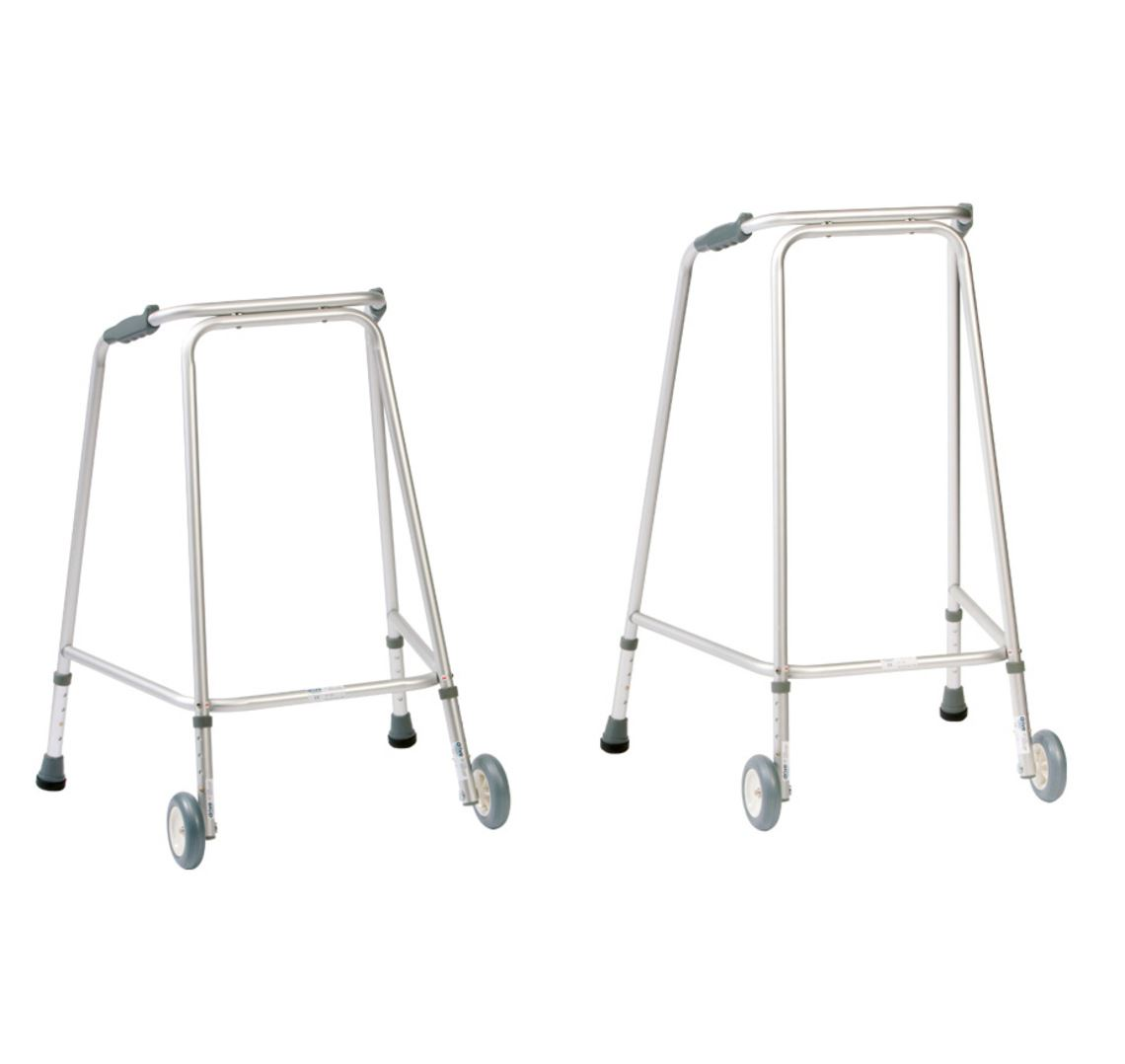 Picture of Hospital Wheeled Walking Frame (Large)