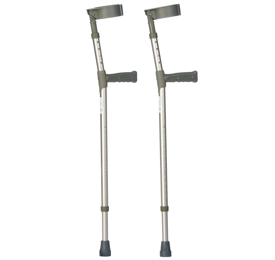 Picture of Double Adjustable Forearm Crutches - Medium