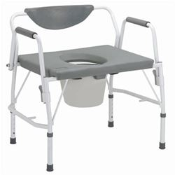 Picture of Bariatric Drop-Arm Commode - 11135-1