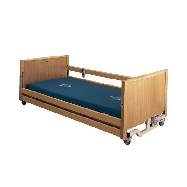 Picture of Bradshaw Low Nursing Care Bed – Light Oak