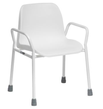 Picture of Foxton Stationary Shower Chair - Stackable & Adjustable Height