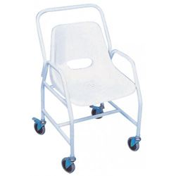 Picture of Hallaton Mobile Shower Chair (4 Brake Castors with Detachable Arms)
