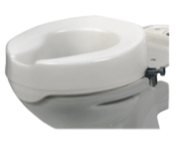 """Picture of 4"""" Raised Toilet Seat (Without Lid)"""