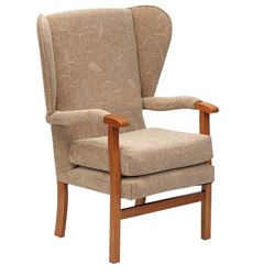 Picture of Jubilee Fireside Chair - Biscuit
