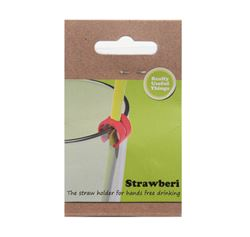 Picture of Strawberi Straw Holders (Pack of 5)