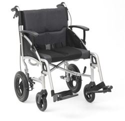 "Picture of 19"" Phantom Silver Wheelchair - Transit"