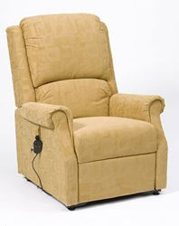 Picture of Chicago Riser Recliner - Gold