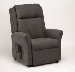 Picture of Memphis Dual Motor Riser Recliner - Charcoal