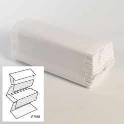 Picture of 2-ply White Interfold Hand Towel (214 Sheets x 15 Sleeves) [IFW2]