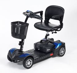 Picture of Scout 4-Wheel Mini Scooter - Blue