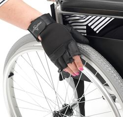 Picture of Fingerless Wheelchair Gloves (Large)