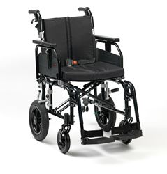 """Picture of 16"""" SD2 Wheelchair Transit (Black)"""