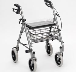 Picture of SR8 - Silver Steel Rollator