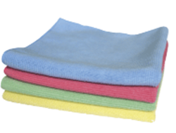 Picture of Deluxe Microfibre Cloths Green - pack of 5