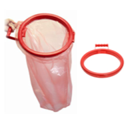 Picture of Laundry Sacks Bag Holder - Red