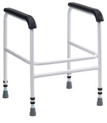 Picture of Bariatric Toilet Frame with PU Arms - Freestanding - **WE**