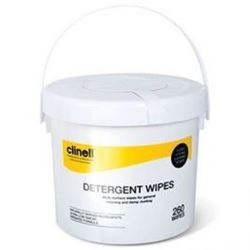 Picture of Clinell Detergent Wipes Bucket (260)