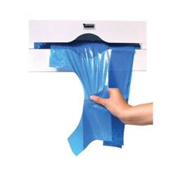 Picture of Apron on a Roll Dispenser.