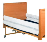 Picture of Profiling Bed Two Bar Rail Bumpers, 200cm, Open Ended