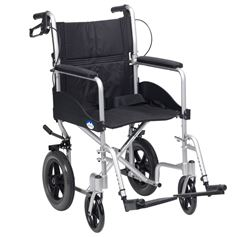 """Picture of 18"""" Expedition Plus Transit Chair (Silver)"""