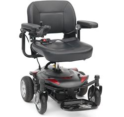 Picture of Titan Powerchair - Black/Red