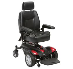 Picture of Titan Compact Powerchair - Blue/Red
