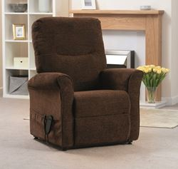Picture of Tilt-in-Space Riser Recliner - Chocolate