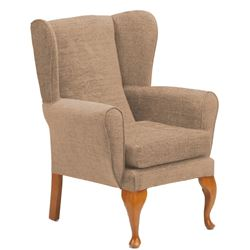 Picture of Queen Anne Chair - Biscuit