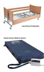 Picture of Bedroom Bundle 2 - Profiling Bed & High Risk Dynamic Air Mattress Systems