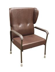 """Picture of Barkby Bariatric High Back Chair with Wings (24"""" Seat Width / 18"""" Seat Depth)"""