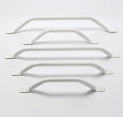 """Picture of Flat End Grab Rails 18"""" 45° Angled"""