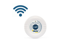Picture of WIRELESS Alerta Nurse Call Button (with Holder & Strap)