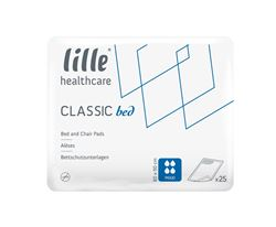 Picture of Lille Classic Bed Maxi - Disposable Bed Pad - 60cm x 90cm (4 x 25) - LFBD8421