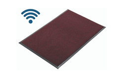 Picture of WIRELESS Deluxe Carpeted Alertamat with Transmitter - Red