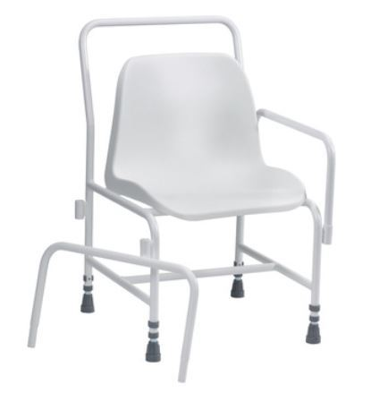 Picture of Foxton Stationary Shower Chair - Adjustable Height & Detachable Arms  **