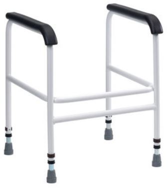 Picture of Bariatric Toilet Frame with PU Arms - Freestanding **
