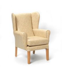 Picture of Marlborough High Back Chair in AM-PVC - Cream