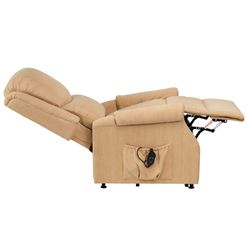 Picture of Indiana Petite Riser Recliner - Biscuit